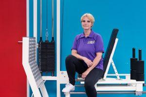 Ellen Lucas, Oefentherapeut Mensendieck, begeleider Big Move en beweeggroepen
